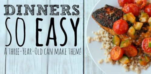 Your weeknight dinners need this life hack. Easy and healthy meals that will take care of your meal prep for the week.
