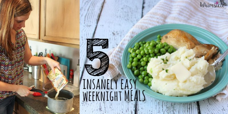 5 Insanely Easy Weeknight Meals