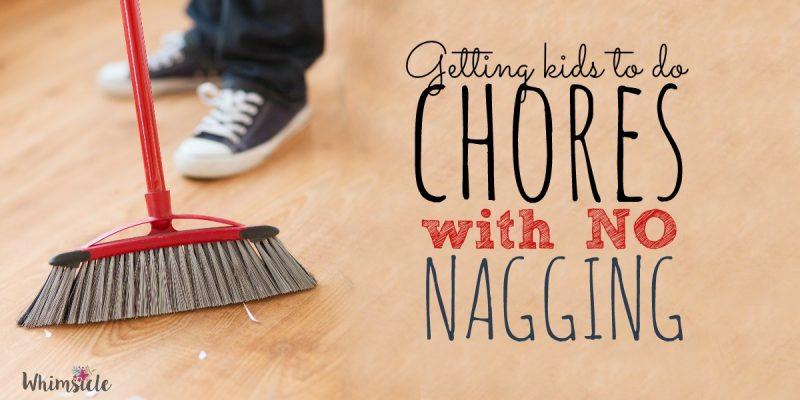 No-Nag Solution for Getting Kids to Do Chores