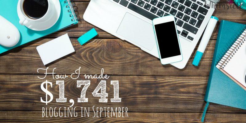How I made $1,741 in September