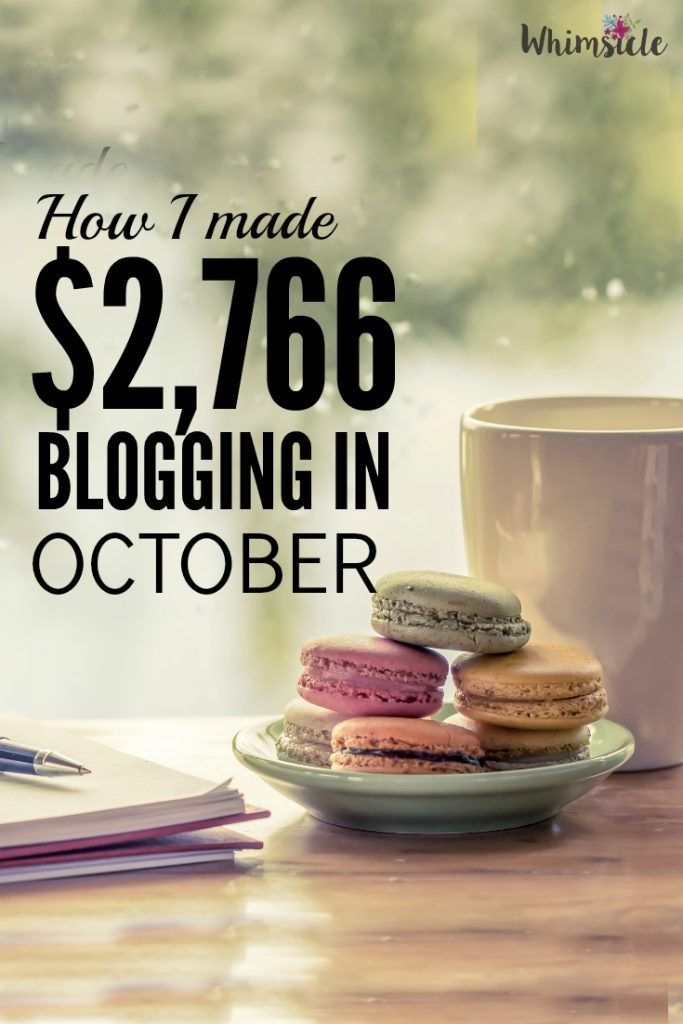 How do you make money blogging? This blogger income report shows you how to build your email list and why you need an email list. Plus, an inside look at a blogger's page views and money.