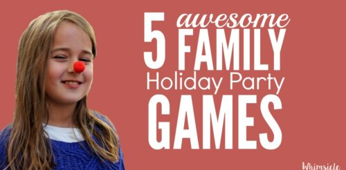 Need some holiday party ideas? Try these holiday games for kids. Family friendly games are where your party is at. Trust me, you'll want to play too.