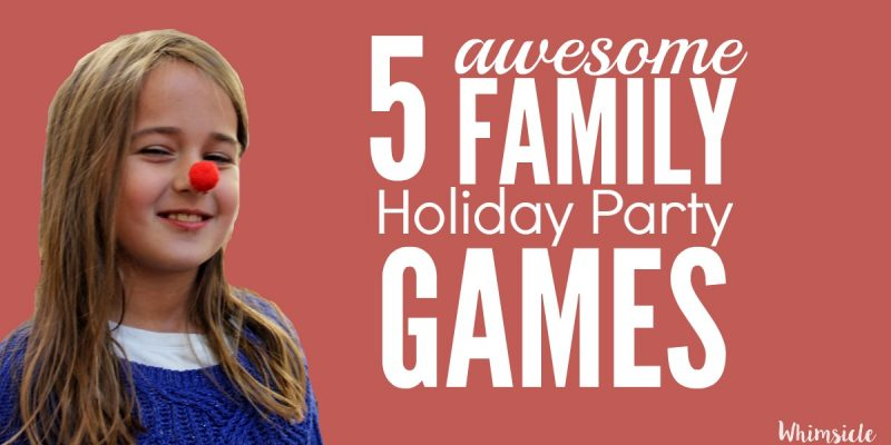 5 Awesome Holiday Party Games for Kids