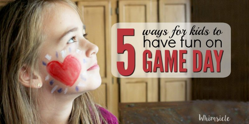 5 Ways for Kids to Have Fun on Game Day