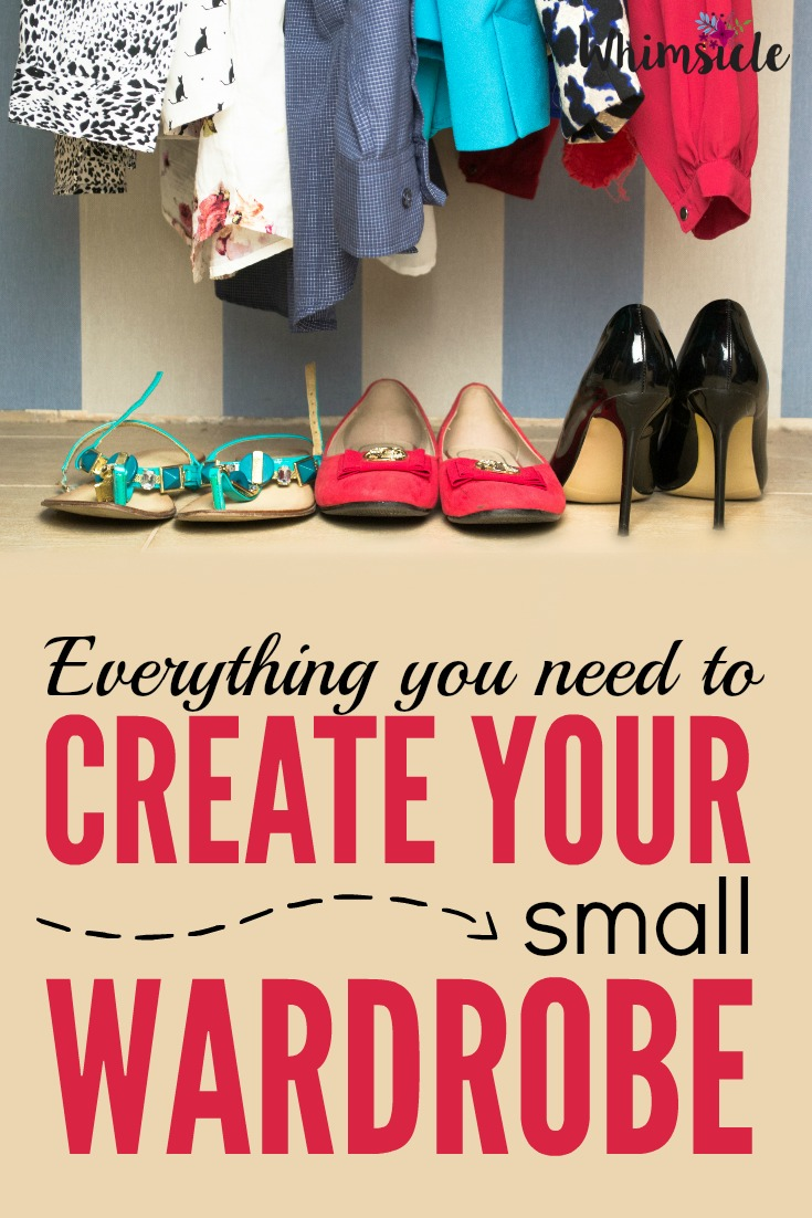 Scared about create a capsule wardrobe? This guides you through the small wardrobe process step-by-step!