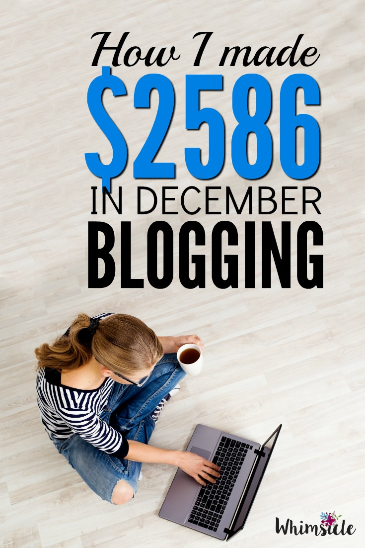 Want to make more money blogging? See one blogger's income report along with typical blog traffic.