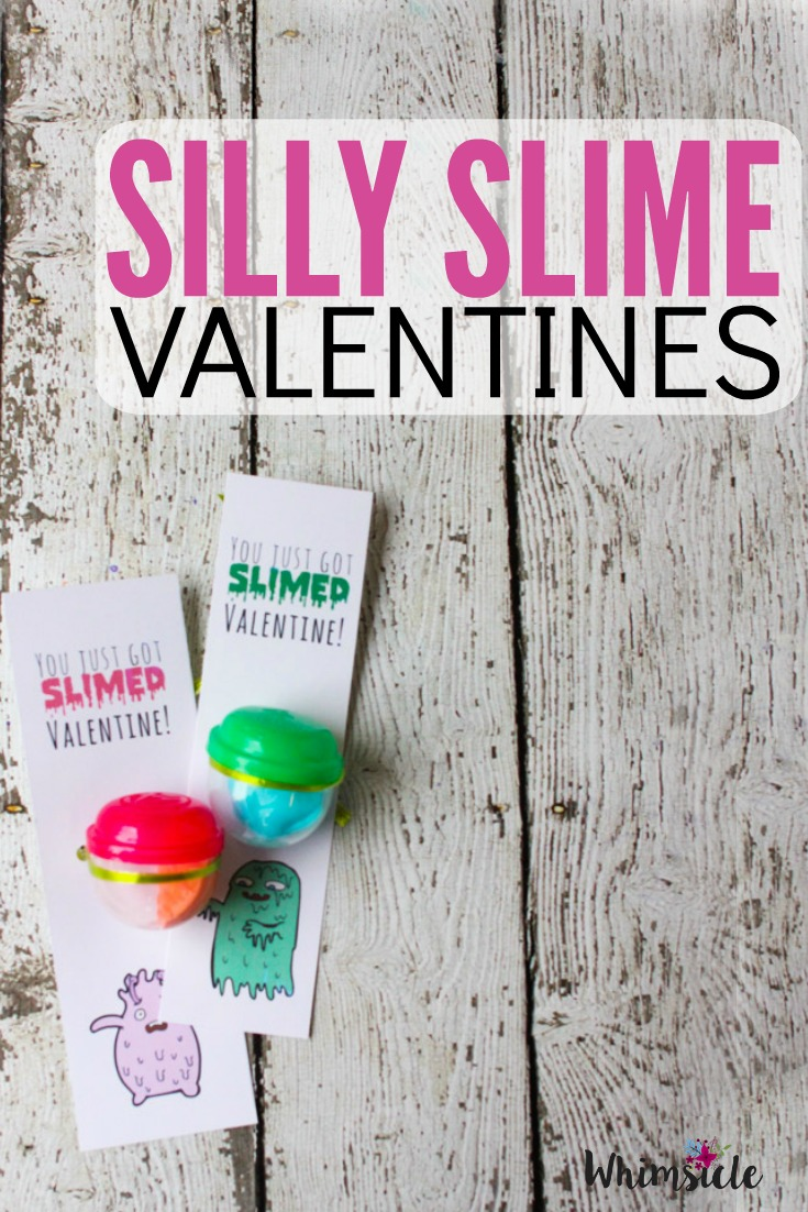 This Valentines Card idea is perfect for your kid's class! Silly putty slime and a bookmark, what could be better?