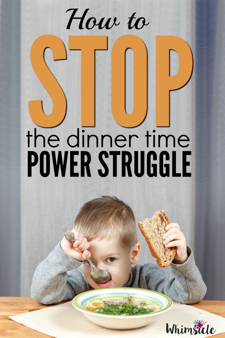 Does every meal time feel like a battle with your picky eater. Here's how to end dinner time tantrums for good.