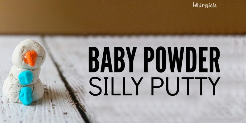 Make Silly Putty out of Baby Powder!