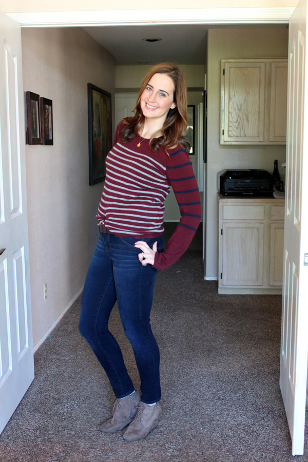 sweater casual outfit