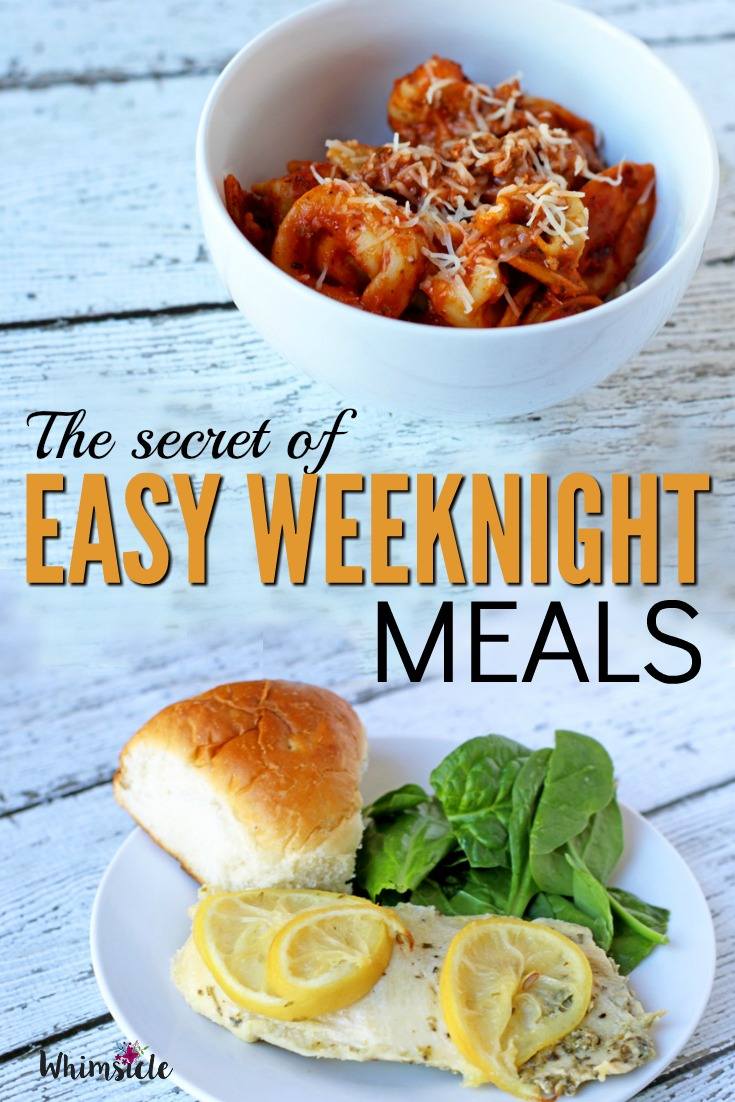 Easy make ahead meals to freeze that will make weekday dinner fast and healthy. Make ahead these meals for the week and always have dinner ready.