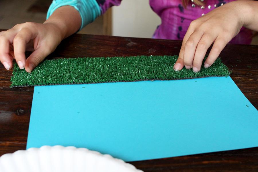 kid football craft