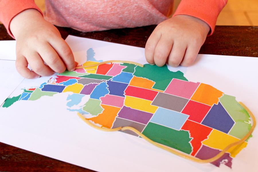 teach kids maps