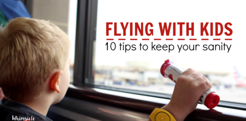 Traveling with kids and keeping them busy on airplanes is hard work. Here's how to make flying with children much easier!