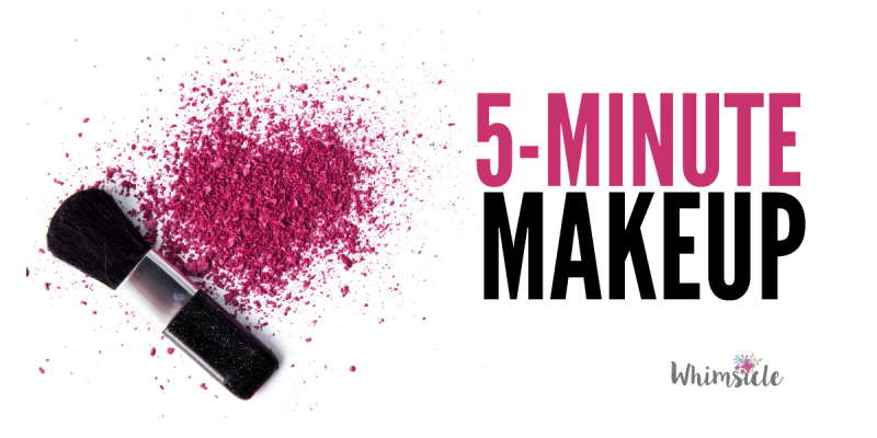OMG! Only five minutes to put on makeup? This is genius!