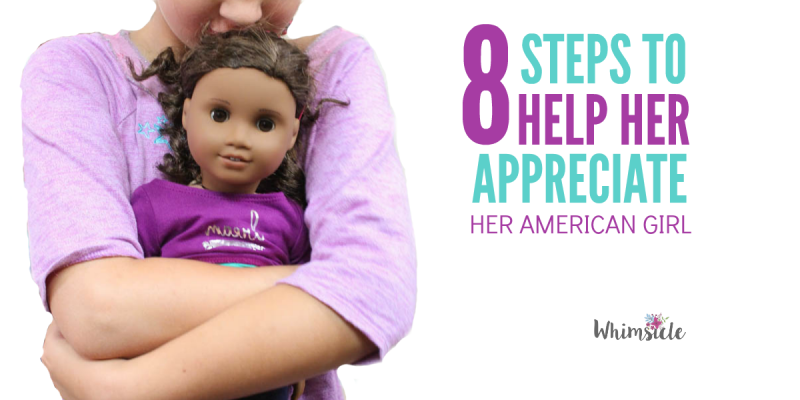SO worried that my daughter wouldn't appreciate her American Girl doll! Love these tips!
