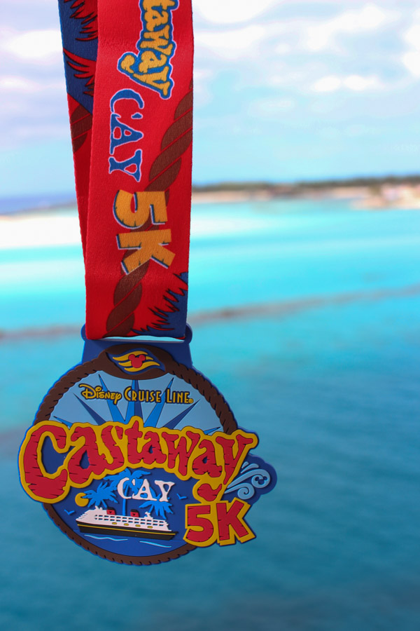 Castaway Cay 5k on Disney Cruise