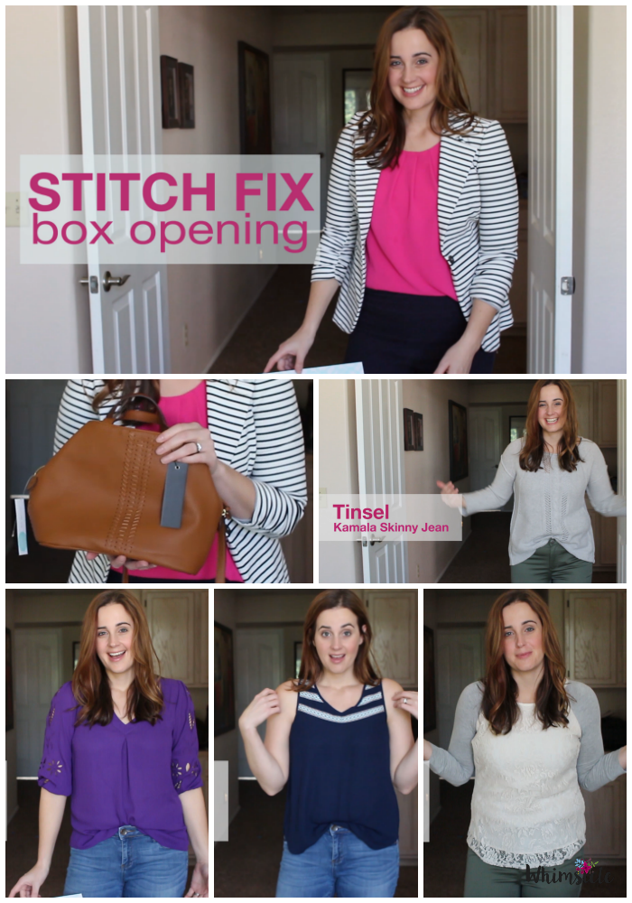 Overwhelmed when shopping and need tips to make decisions easier. Using a Stitch Fix box, here's what to keep and what to send back.