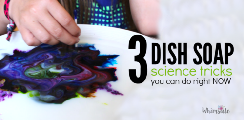 Want a fun kid activity that needs only a couple of supplies? Do these 3 activities tonight with only dish soap and other ingredients you have in your kitchen.