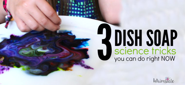 3 Dish Soap Science Tricks You Can DO Right Now!