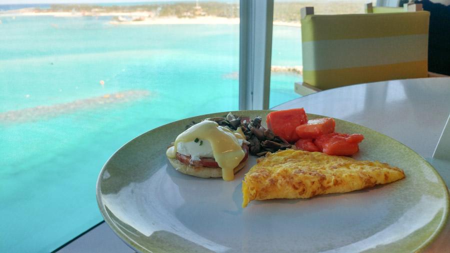Breakfast at Cabanas on Disney Wonder