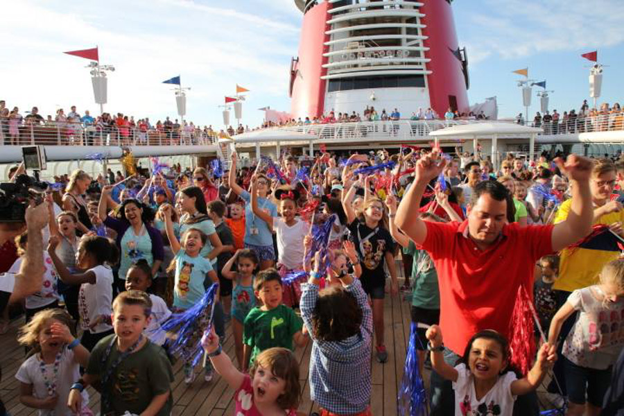 Disney Cruise casting off party