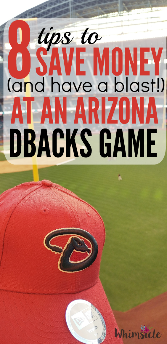 Is a baseball game worth the money with kids? Yes! These 8 tips will help you save money when you go to an Arizona Diamondbacks game.