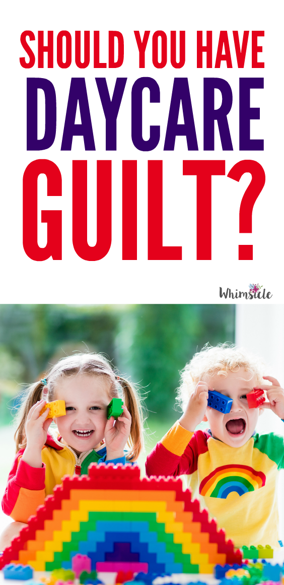 Wondering if daycare is bad for toddlers? Exactly the opposite! Here's help in getting over daycare guilt.