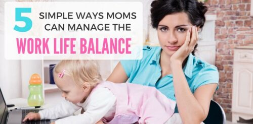As women, time management can be so rough! These tips will help you maximize your schedule as a mom. I use these all the time to help with work-life balance!