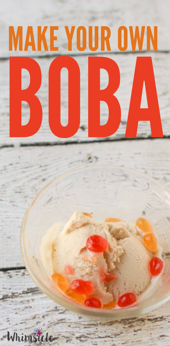 I had no idea you can make boba at home! This is a super fun kid's science activity!