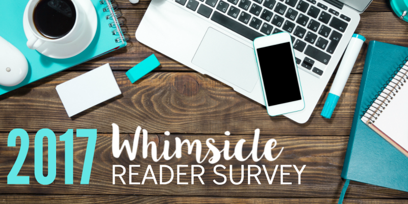 2017 Whimsicle Reader Survey