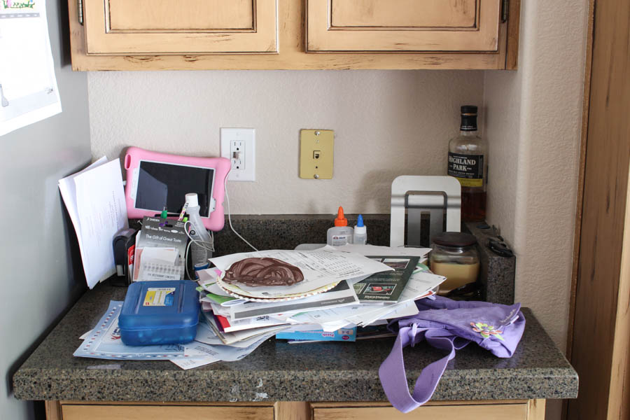How to organize my kitchen counter tops