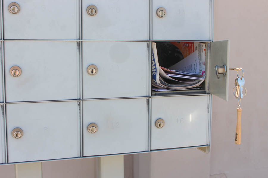 checking mail once a week keeps counters clear