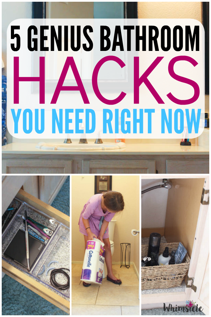 Bathroom Organization Hacks: 5 You Need Right Now
