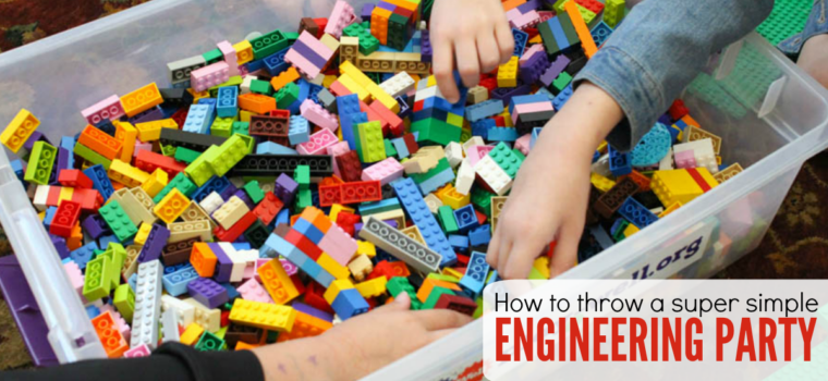 How to Throw a Super Simple Kid Engineering Party