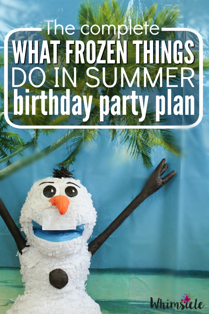 Planning a Frozen themed birthday party can be a little overwhelming. No worries! I have a complete Olaf summer party idea for you. Let me show you the supplies you need, activities and even where to get your cake!