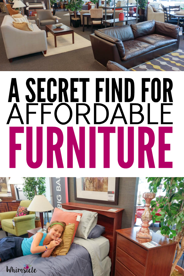 A secret find for affordable furniture no guilt mom for Affordable furniture and mattress