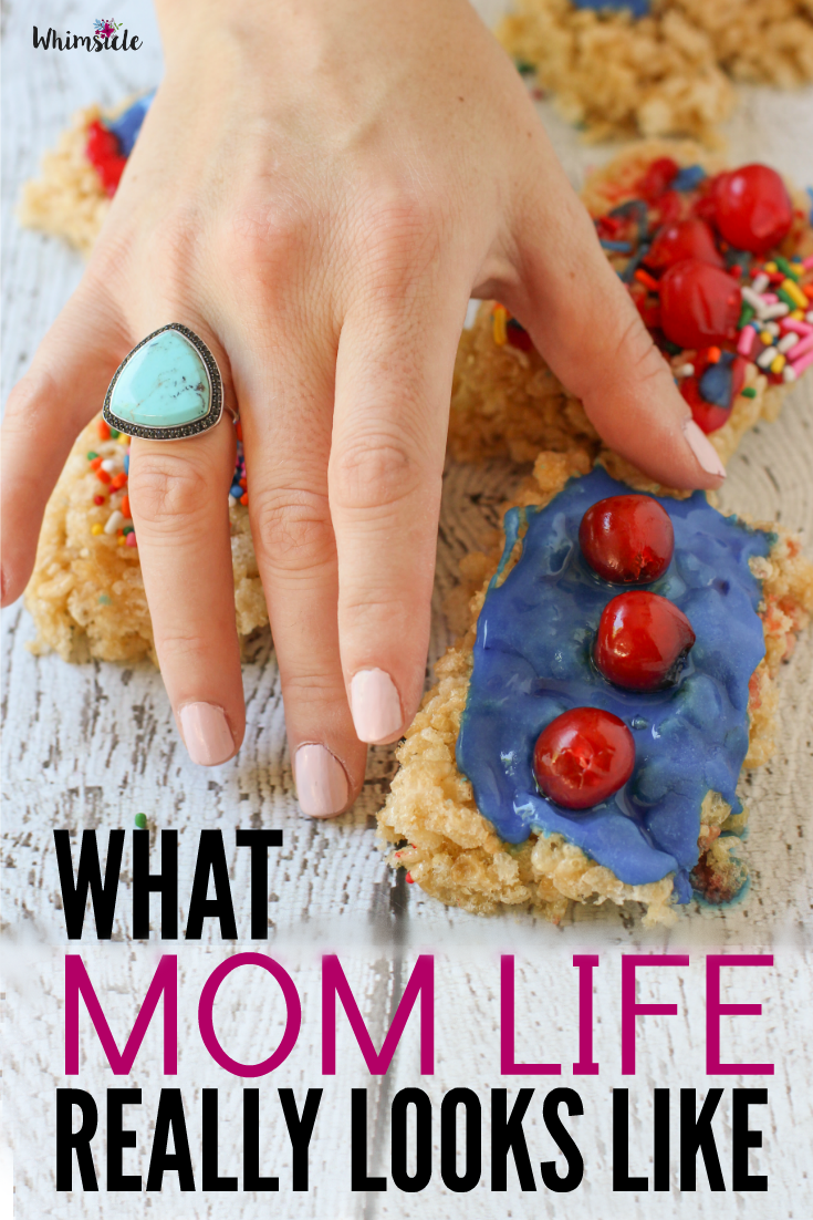 Mom life is hard! You know all those idyllic kid activities you see? Well, here's how parenting really goes down. Real life is far from perfect... but reality can also be fun.