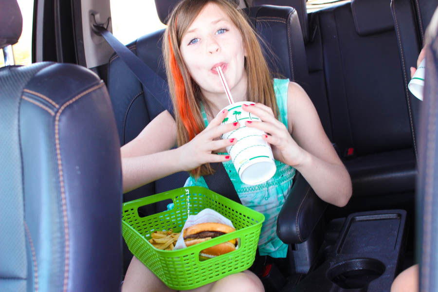 road trip hacks for eating on the road