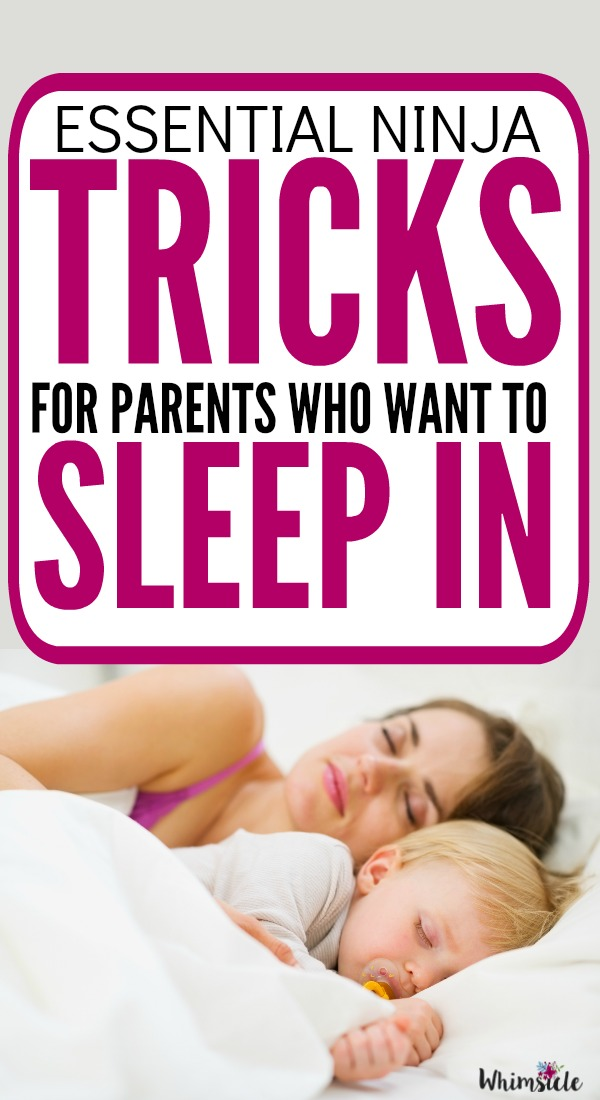 HELP! When your kids wake up way too early you will do everything to sleep in. Here are 7 tips to deal with your early riser and what to do when your children won't go back to sleep.
