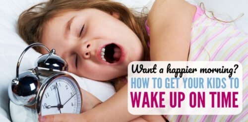 Want a happier morning where all your kids get to school on time? These 6 tips will help solidify your morning routine without argument or yelling - ok, LESS argument and yelling. Waking your kids up for school will be a lot easier with these ideas in place.