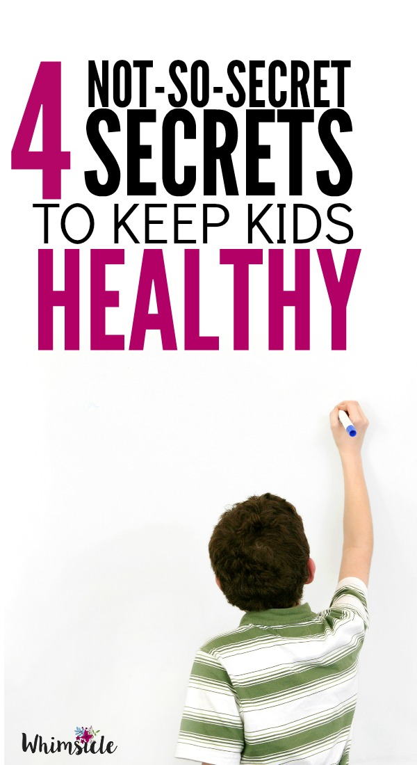 What is most important tip to keep kids healthy from school germs? Really you only need one thing to keep your child from always getting sick! These 4 keep kids healthy tips will make everyone happy!