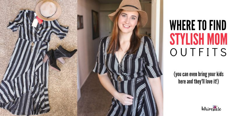 Stylish Mom Outfits: Where you can Find Them (and actually enjoy shopping with your kids!)