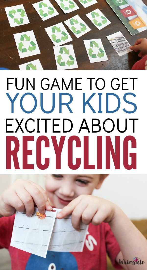 It's never too late to teach kids how to recycle in this fun, recycling sorting game. Also, sign up for the PepsiCo Recycle Rally!