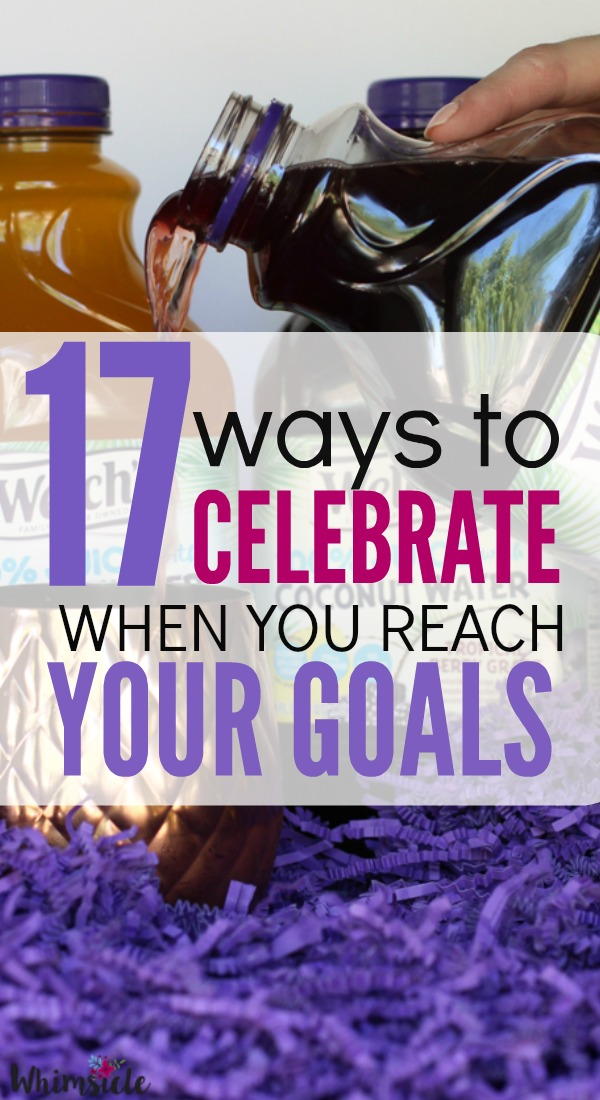 Stumped on how to celebrate your small wins? Here are 17 ways that you can use every day to rejoice in your success. These will keep you motivated as you strive for your bigger goal.