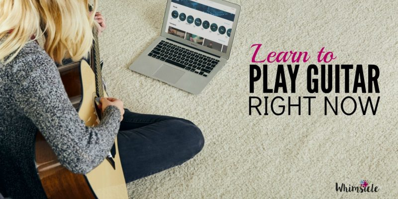 Learn to Play Guitar at Home (Right Now)