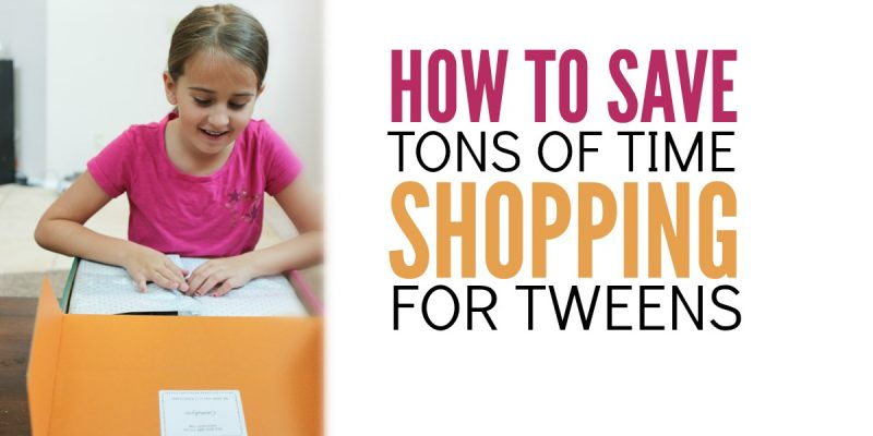 How to Save Tons of Time Shopping for Tween Outfits