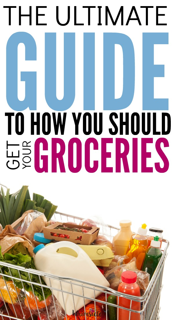 How should you get your groceries?  Figure out if meal planning, meal delivery, grocery pickup or traditional grocery shopping is right for you.  See the prices of each including the benefits and drawbacks of each.