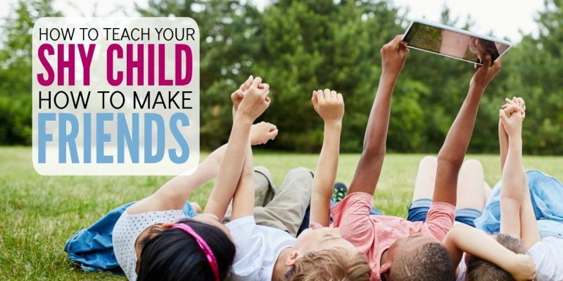 5 Simple Steps To Teach Your Child How to Make Friends