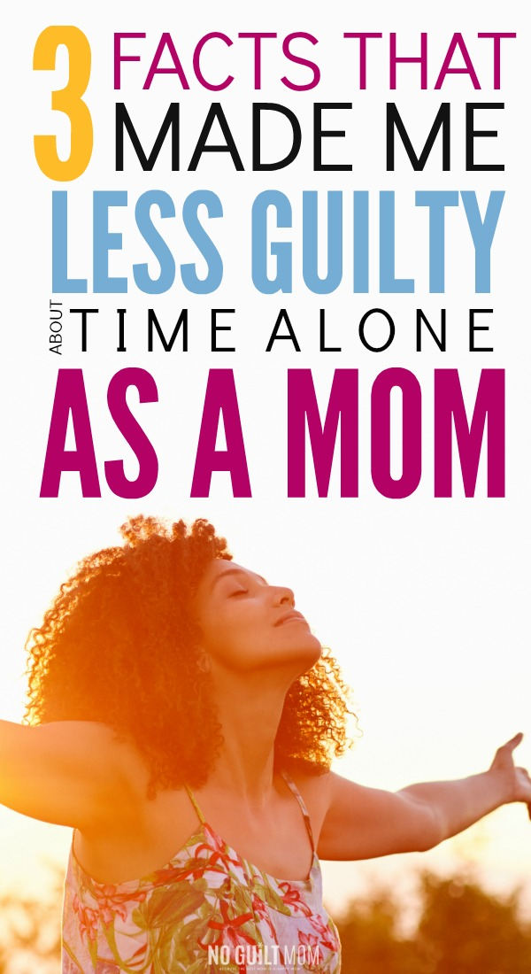 Feel guilty about leaving your husband alone with the kids? Don't! You need this mom time alone. Not only does it prevent depression but it makes you a better parent.